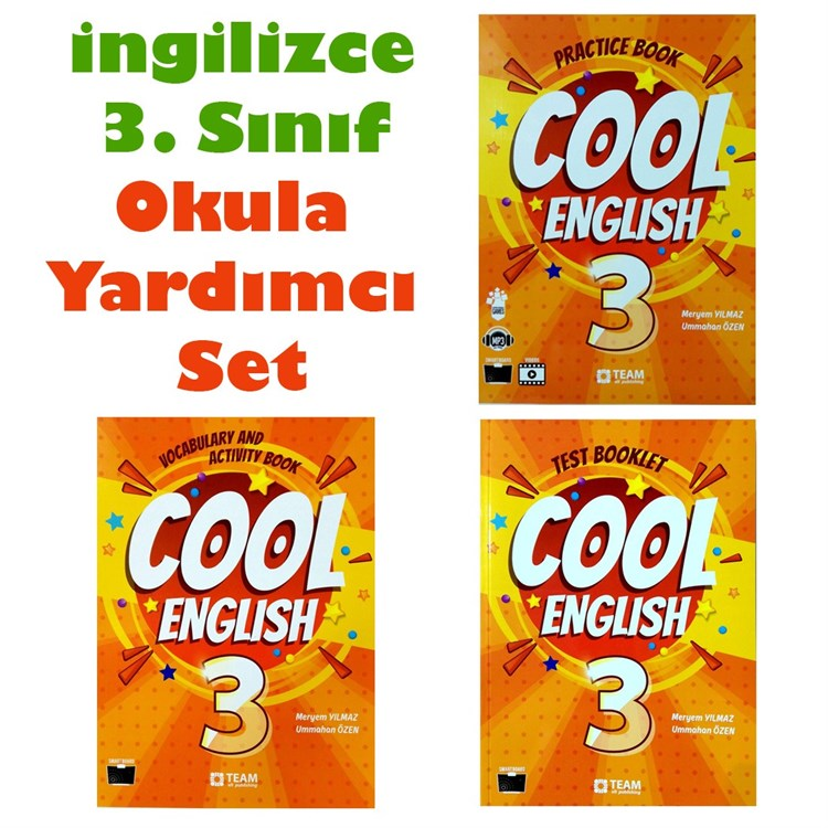 3. Sınıf Cool English Seti