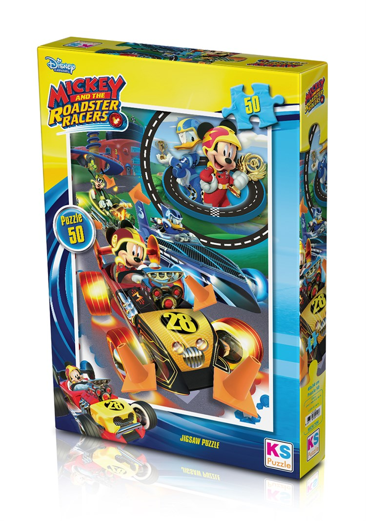 Mickey Mouse 50 Puzzle